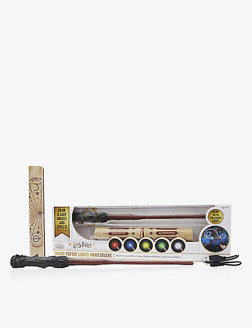 WIZARDING WORLD: Harry Potter Deluxe Lumos Wand