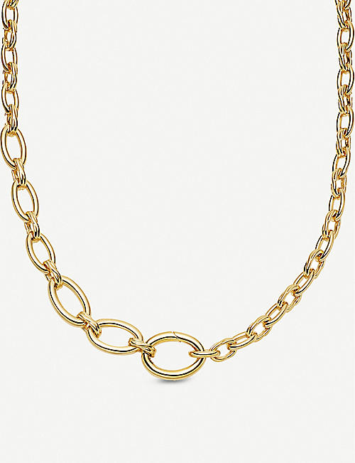 MISSOMA: Graduated gold-plated necklace