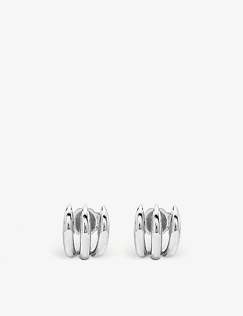 MISSOMA: Claw sterling silver stud earrings