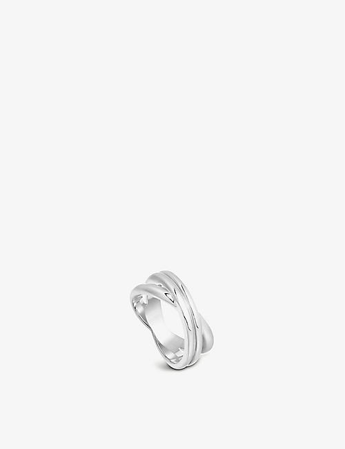 MISSOMA: Infini sterling silver ring