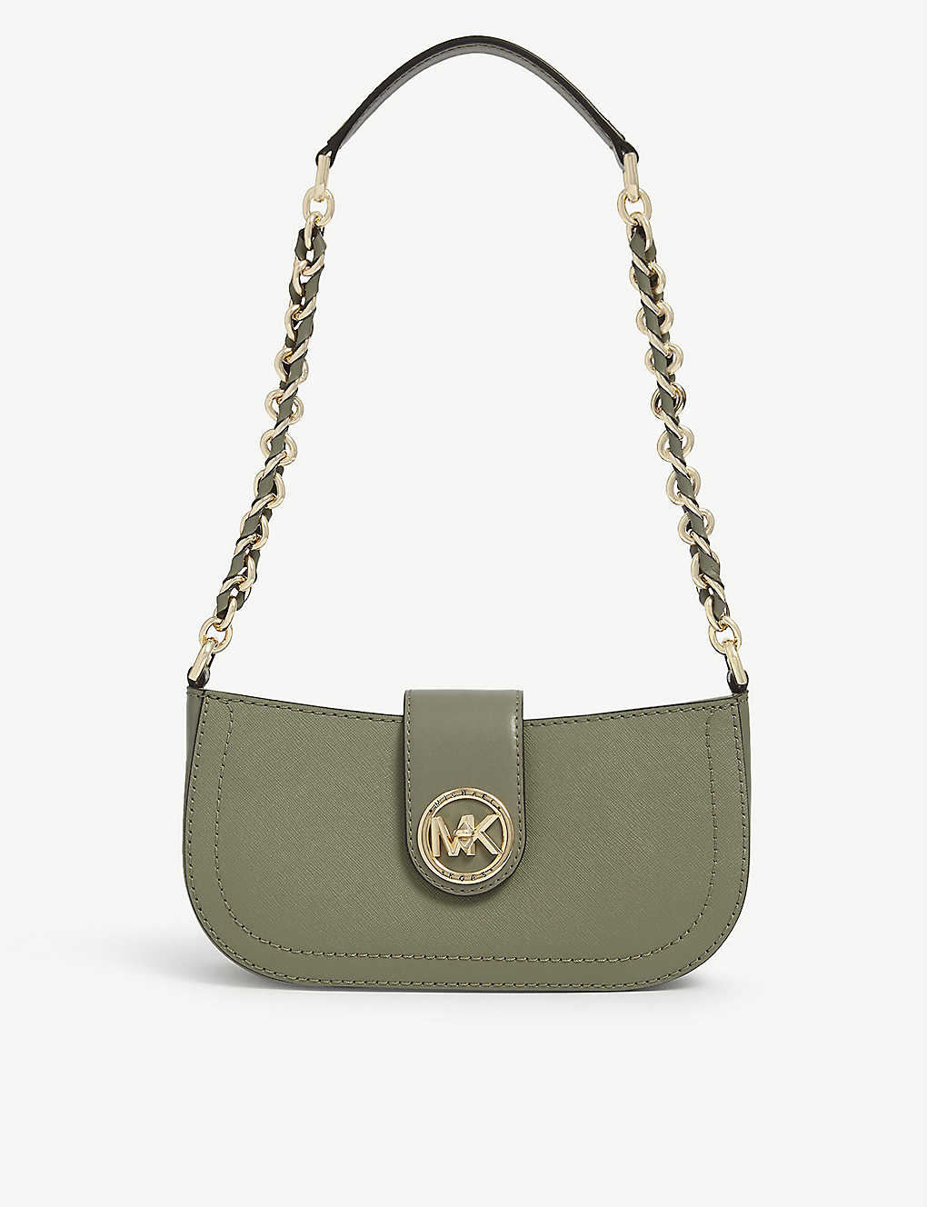 MICHAEL MICHAEL KORS: Carmen leather shoulder bag