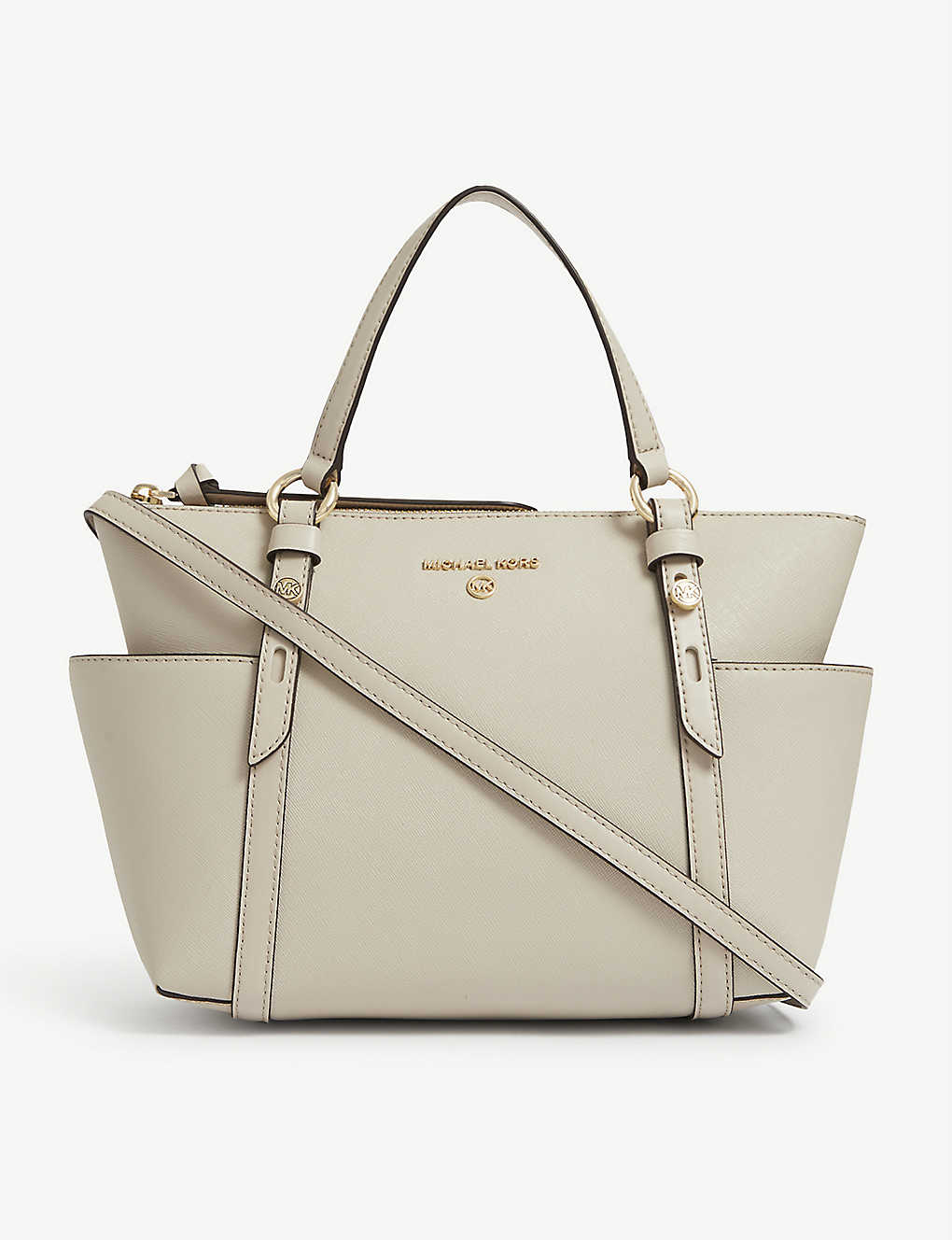 MICHAEL MICHAEL KORS: Nomad leather tote bag