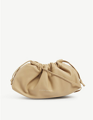 STUDIO AMELIA: 1.0 Mini drawstring leather bag