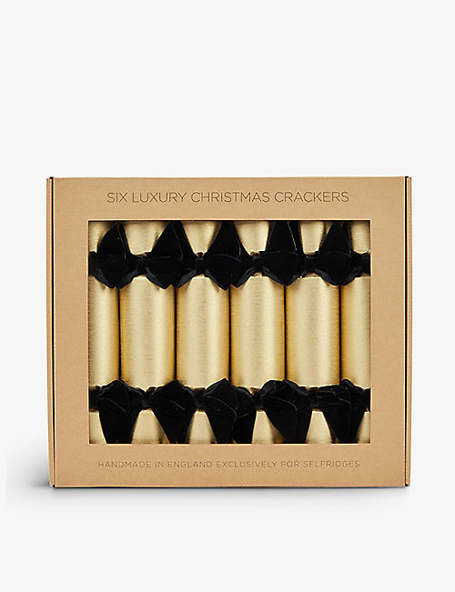 CRACKERS: Celebration House Limited velvet-bow crackers