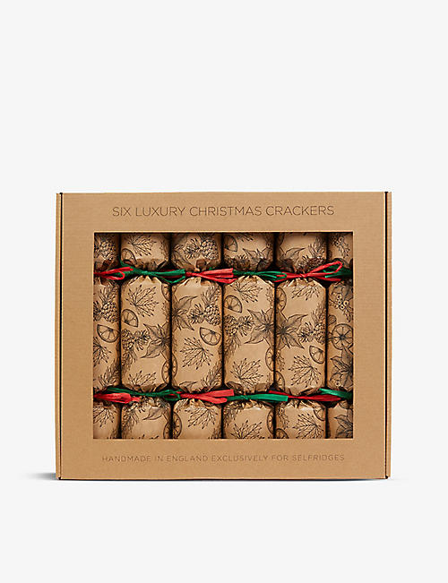 CRACKERS: Self Eco Christmas crackers