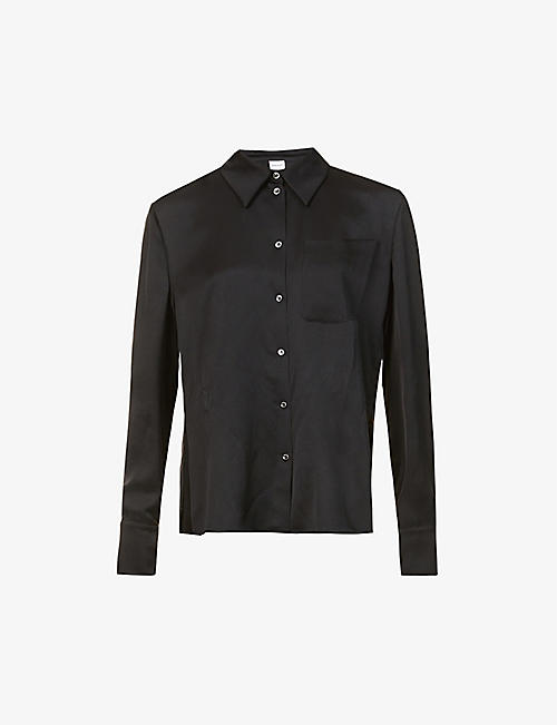 MAGDA BUTRYM: Relaxed-fit silk shirt