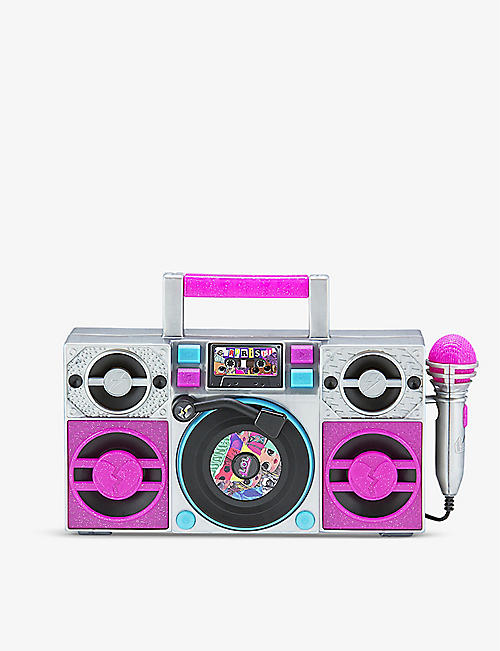 L.O.L. SURPRISE: Remix sing-along boombox music player