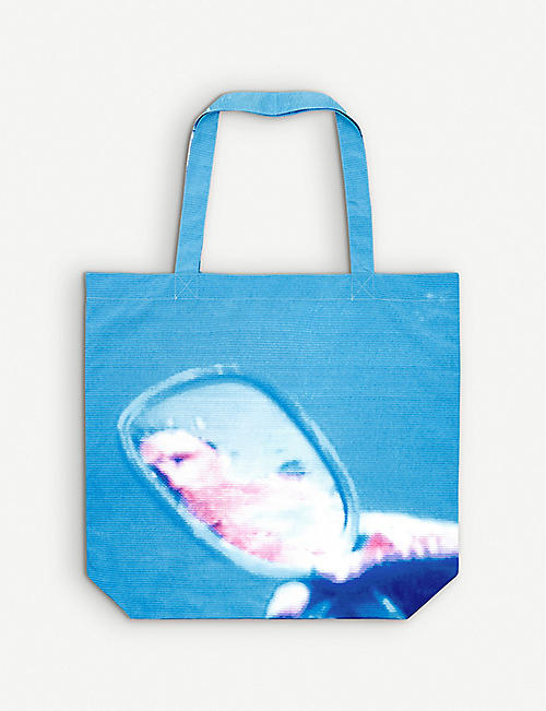 PARLEY FOR THE OCEANS: Parley x Pipilotti Rist Ocean recycled-plastic tote bag