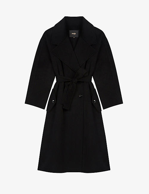 MAJE: Gerry wool-blend coat