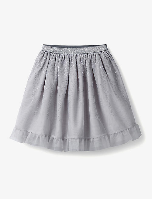 THE LITTLE WHITE COMPANY: Layered sequin tutu 1-6 years
