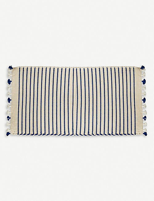 THE CONRAN SHOP: Abanjá Sadek cotton bath mat 53cm x 96cm