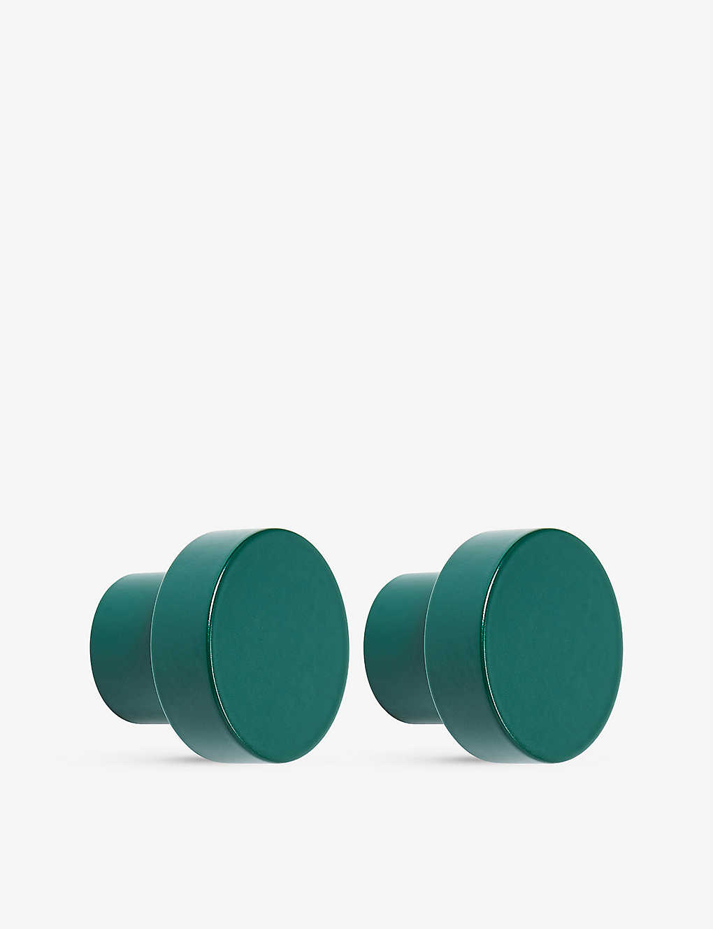 THE CONRAN SHOP: Swarf Hobson knobs set of two