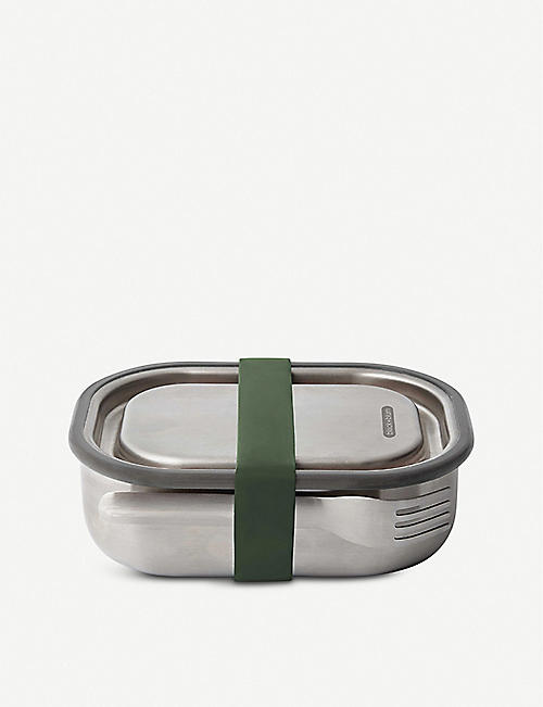 THE CONRAN SHOP: Black + Blum stainless steel lunchbox