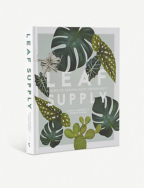 THE CONRAN SHOP: Leaf Supply Guide to Creating Your Indoor Jungle hardback book