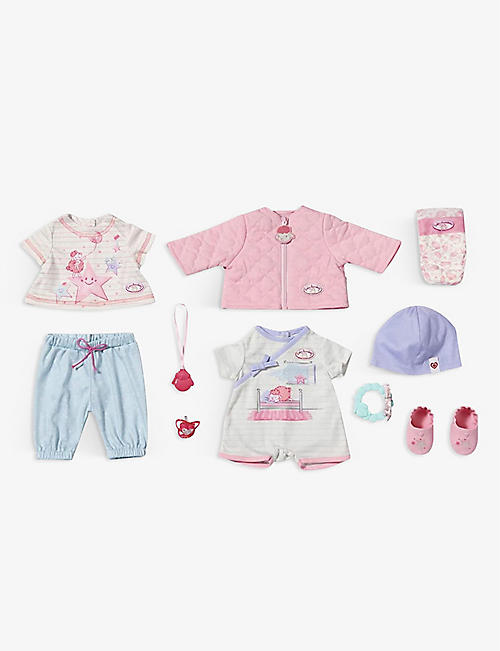 BABY ANNABELL: Baby Annabell mix and match clothing set