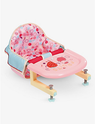 BABY ANNABELL: Lunchtime feeding chair set