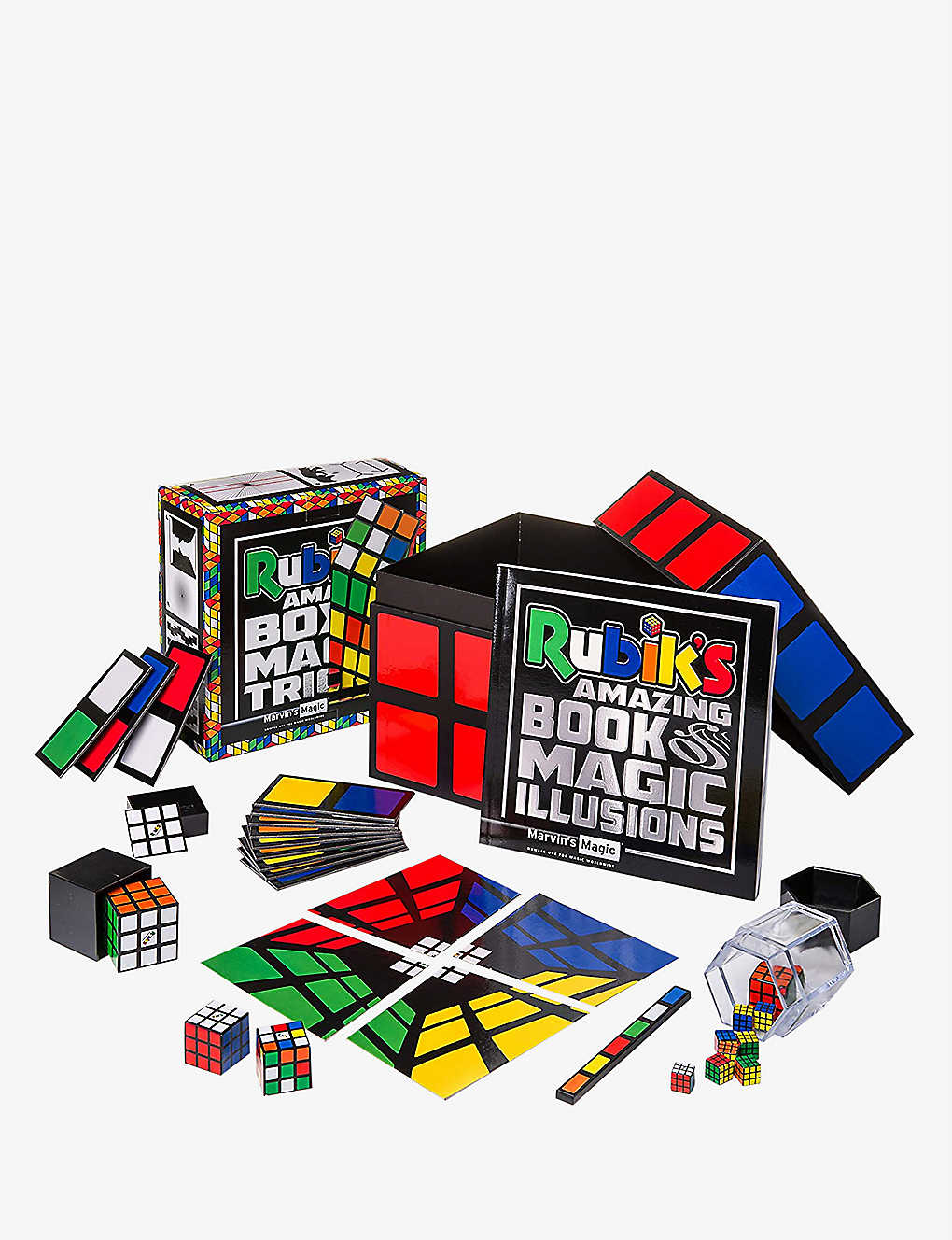 MARVINS MAGIC: Rubik's Amazing Box of Magic Tricks