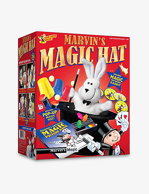 MARVINS MAGIC: Magic hat and rabbit activity set