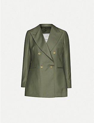 GIULIVA HERITAGE: Stella double-breasted wool jacket