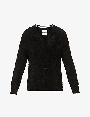 THE SOLOIST: Textured knitted cardigan