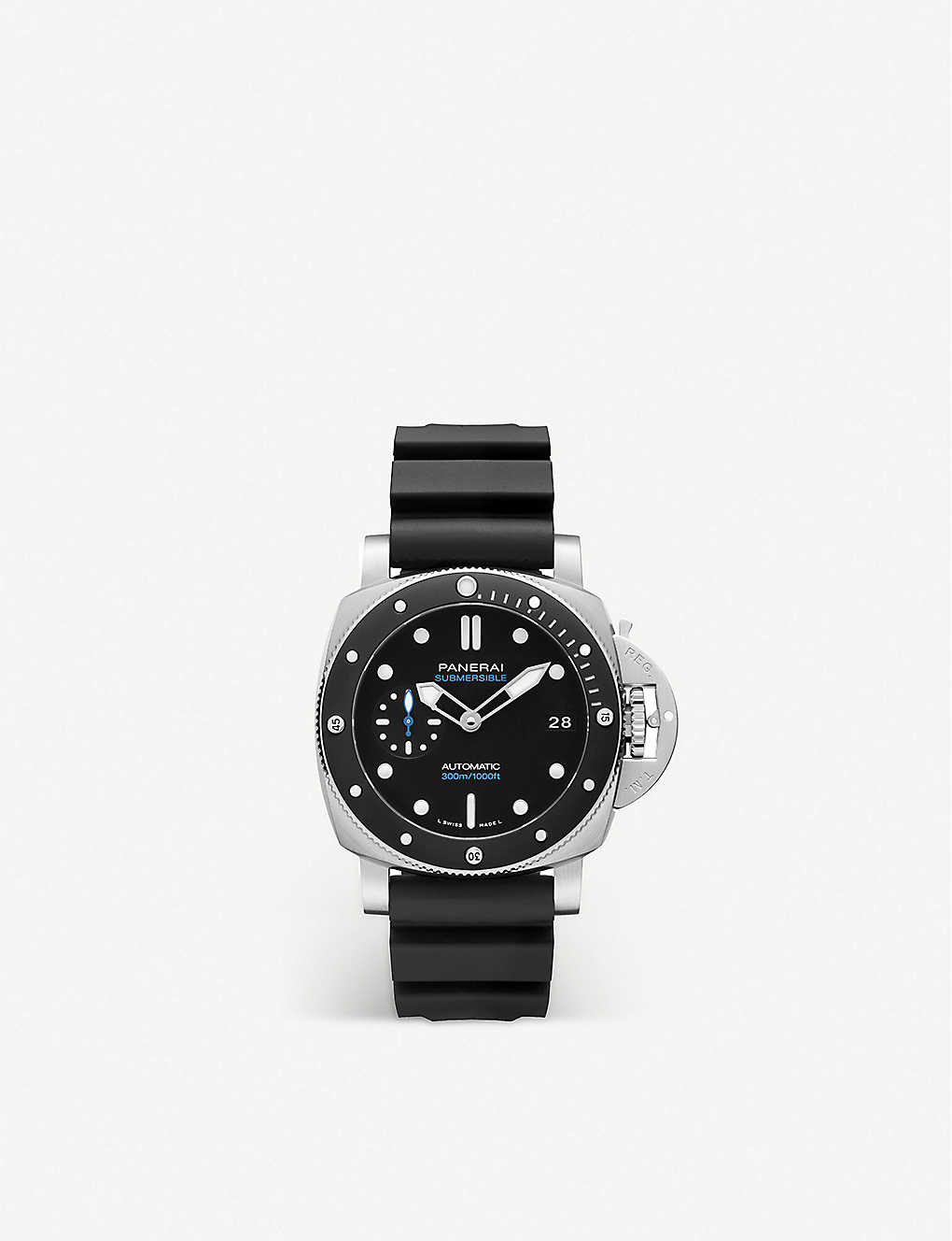 PANERAI: PAM00683 Submersible stainless-steel and rubber automatic watch