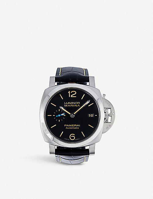 PANERAI: PAM01392 Radiomir Base Logo polished steel watch