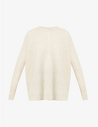 BRUNELLO CUCINELLI: Scoop-neck knitted jumper