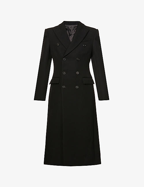 WARDROBE.NYC: Double-breasted wool coat