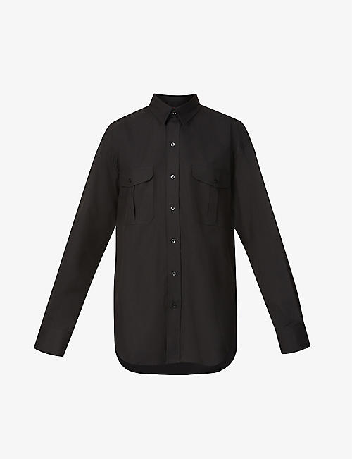 WARDROBE.NYC: Loose-fit cotton-poplin shirt