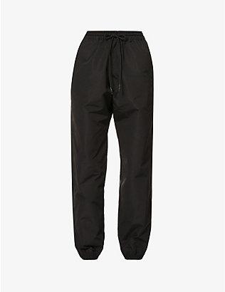 WARDROBE.NYC: Tapered mid-rise cotton-blend trousers