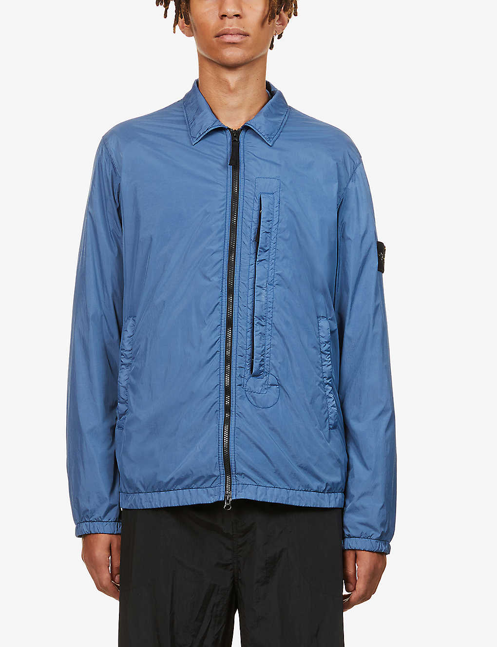 STONE ISLAND: Crinkle Reps shell jacket