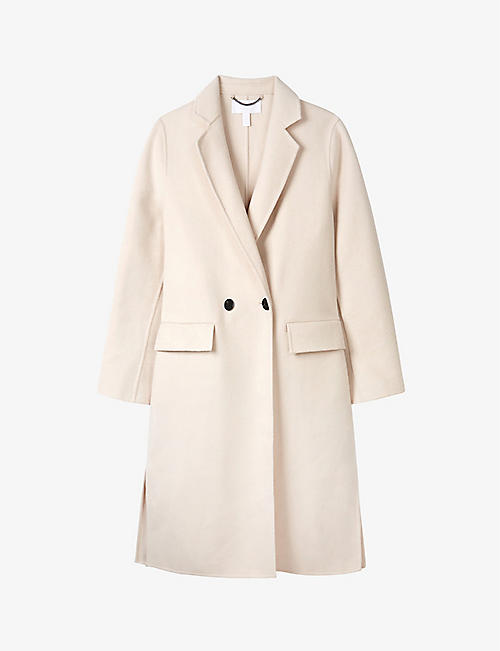THE WHITE COMPANY: Classic double face wool coat