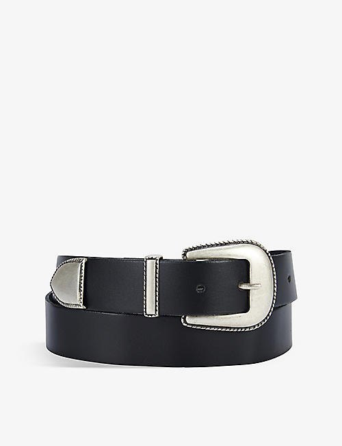 THE WHITE COMPANY: Western leather belt