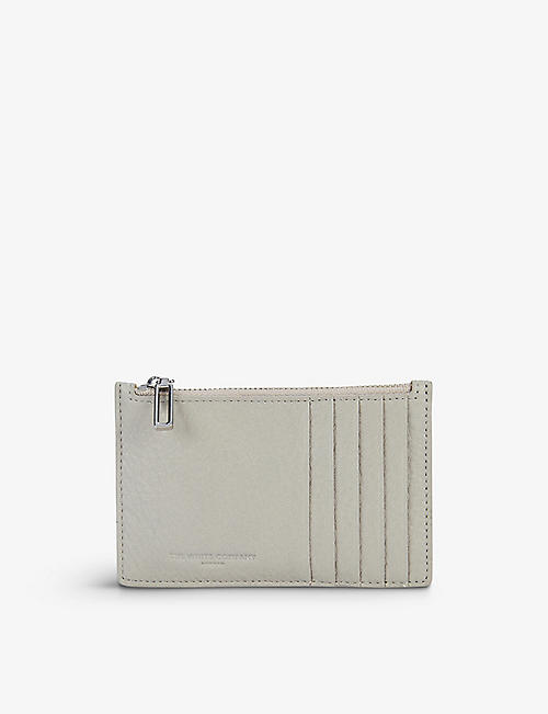 THE WHITE COMPANY: Zipped leather card wallet