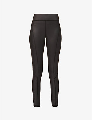 MICHI: Alba Pocket high-rise stretch-jersey leggings