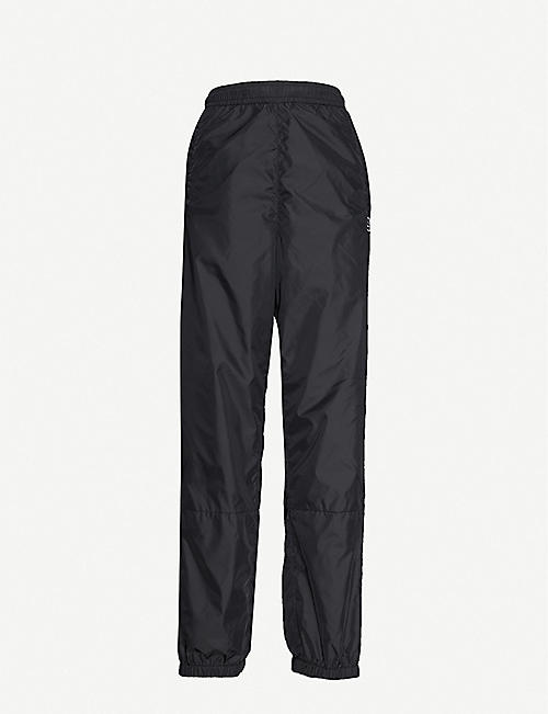 ACNE STUDIOS: Phoenix tapered mid-rise shell jogging bottoms