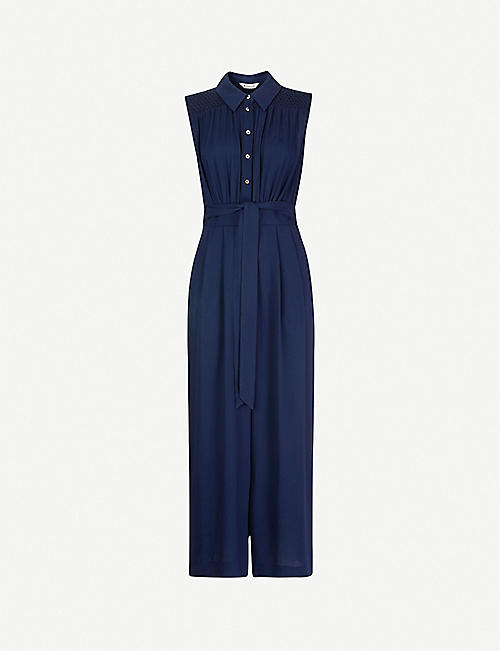 WHISTLES: Zara sleeveless crepe jumpsuit