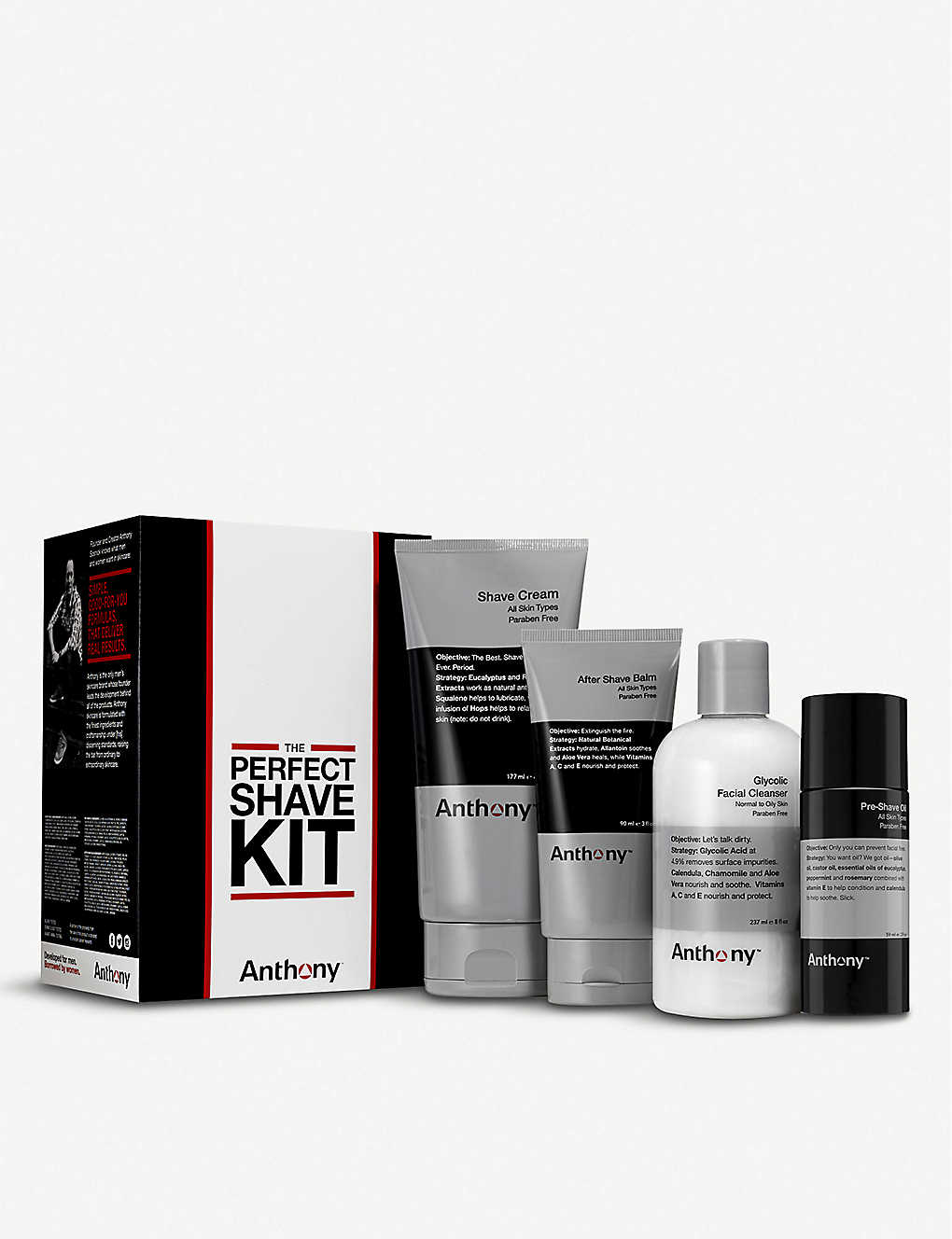 ANTHONY: The Perfect Shave Kit