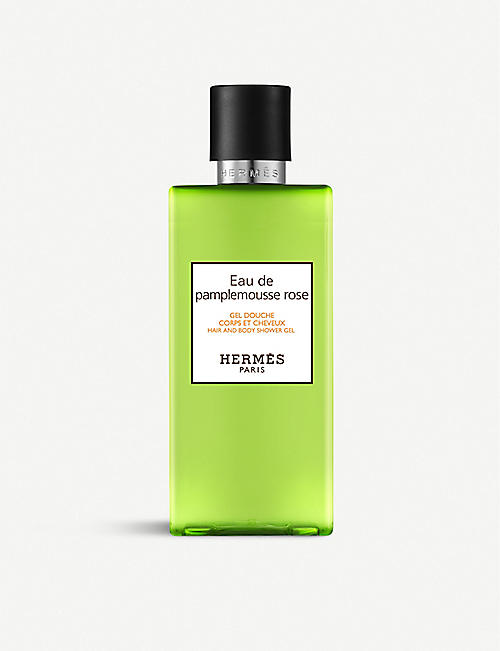 HERMES: Eau de Pamplemousse Rose shower gel 200ml