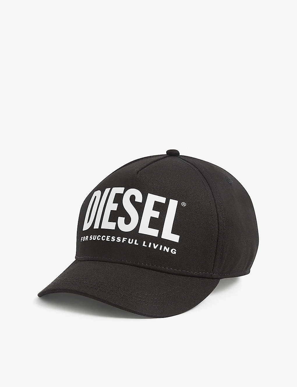 DIESEL: Kids logo-print canvas cap 6-16 years