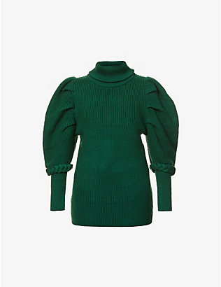 PAPER LONDON: Bill turtleneck wool-blend jumper