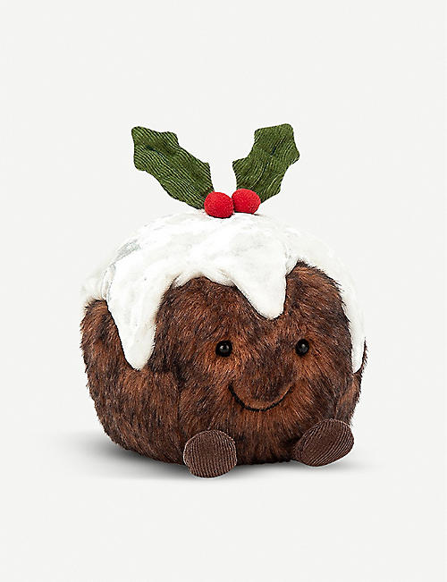 JELLYCAT: Amuseable Christmas Pudding soft toy 14cm