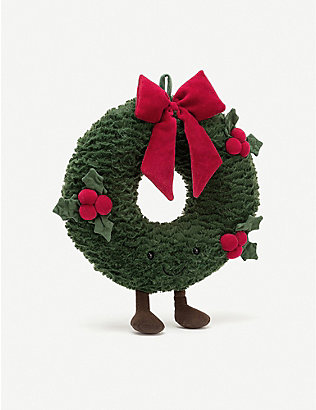 JELLYCAT: Amuseable Wreath plush toy 35cm