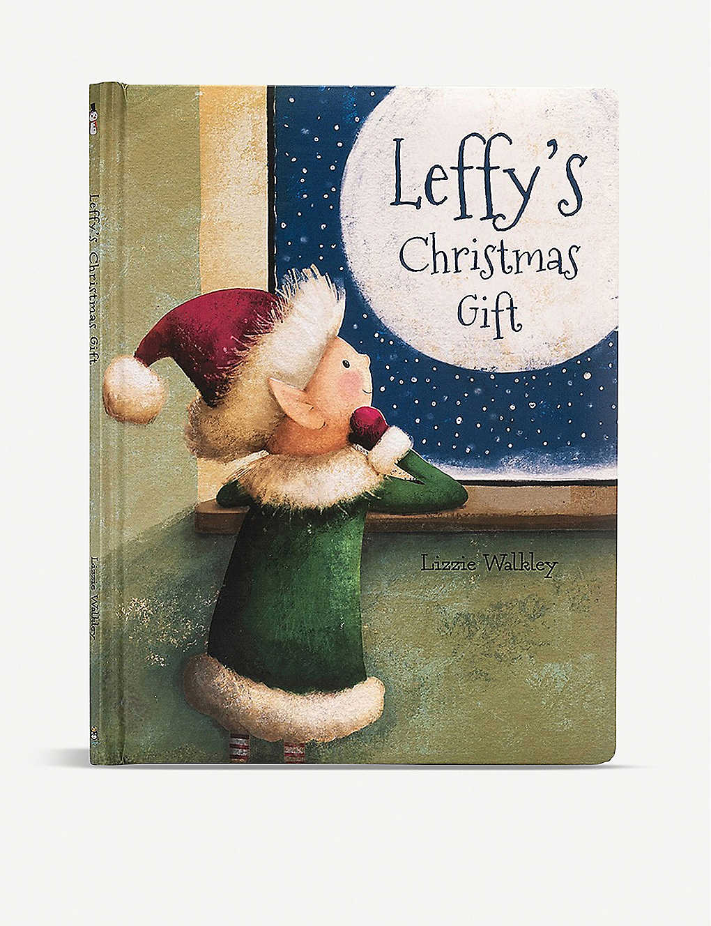 JELLYCAT: Leffy's Christmas Gift hardback book