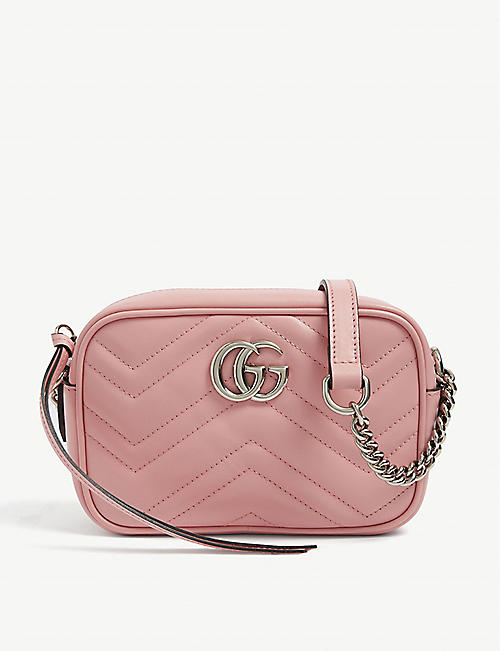 GUCCI: GG Marmont leather cross-body bag