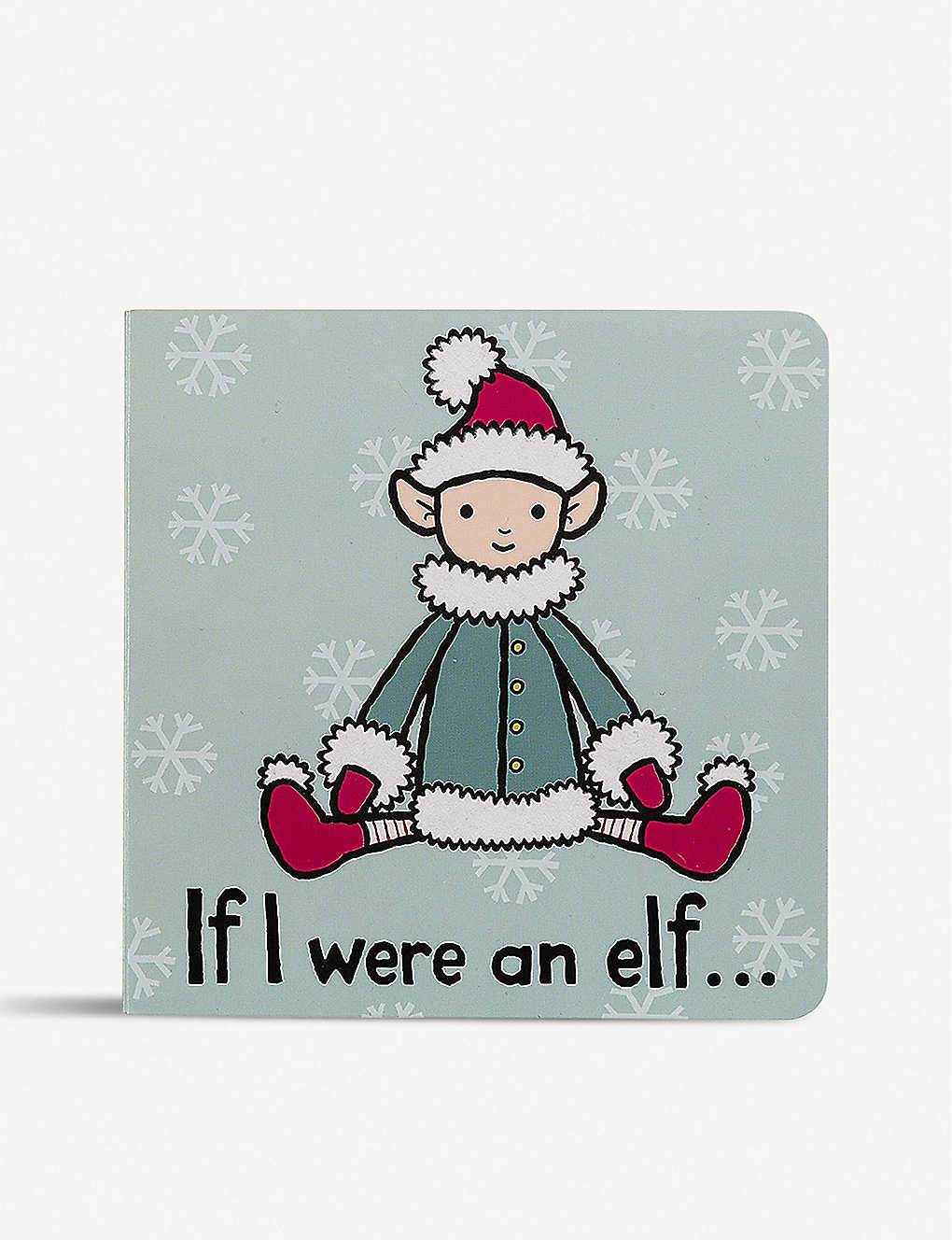 JELLYCAT: If I Were an Elf children's book