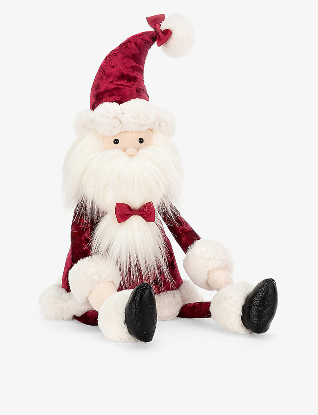 JELLYCAT: Cranberry Santa soft toy 51cm