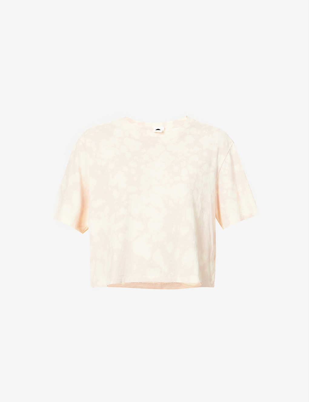 BASSIKE: Motley tie-dyed organic cotton-jersey T-shirt