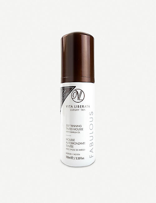 VITA LIBERATA: Fabulous self-tanning tinted mousse 100ml