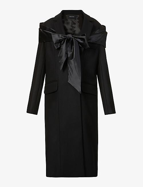 SIMONE ROCHA: Wool, cashmere and silk-blend coat